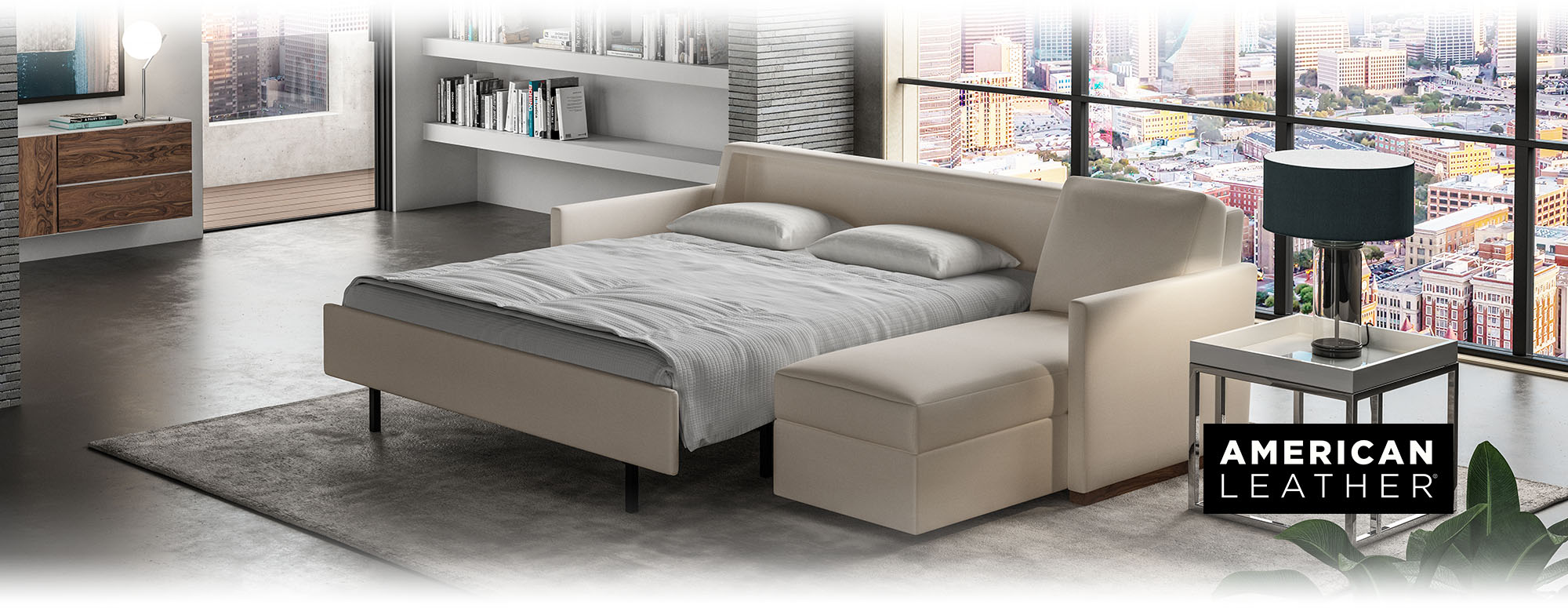 The American Leather Comfort Sleeper